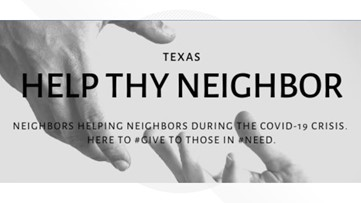 'A space to love people, to give to people and to help people' | Facebook group starts for Texans to help people across the state