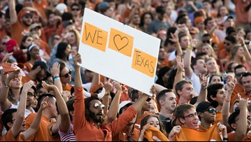 Texas Longhorns rise in AP Top 25 Poll before facing LSU Tigers in Austin