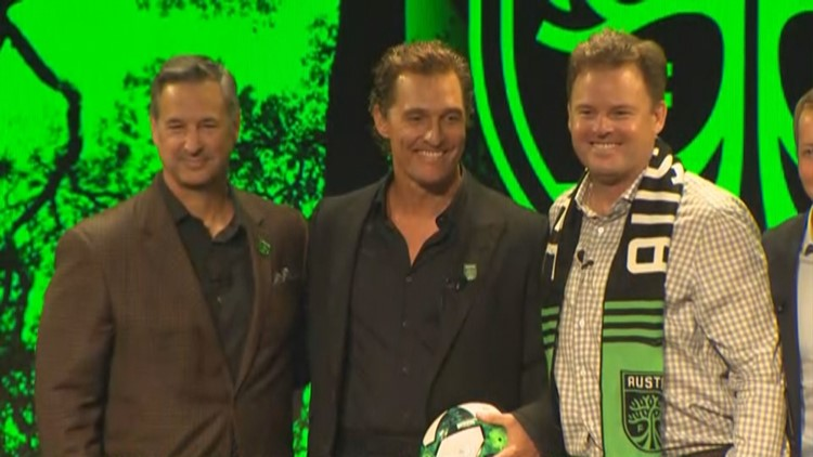 Matthew McConaughey named one of Austin FC's new owners