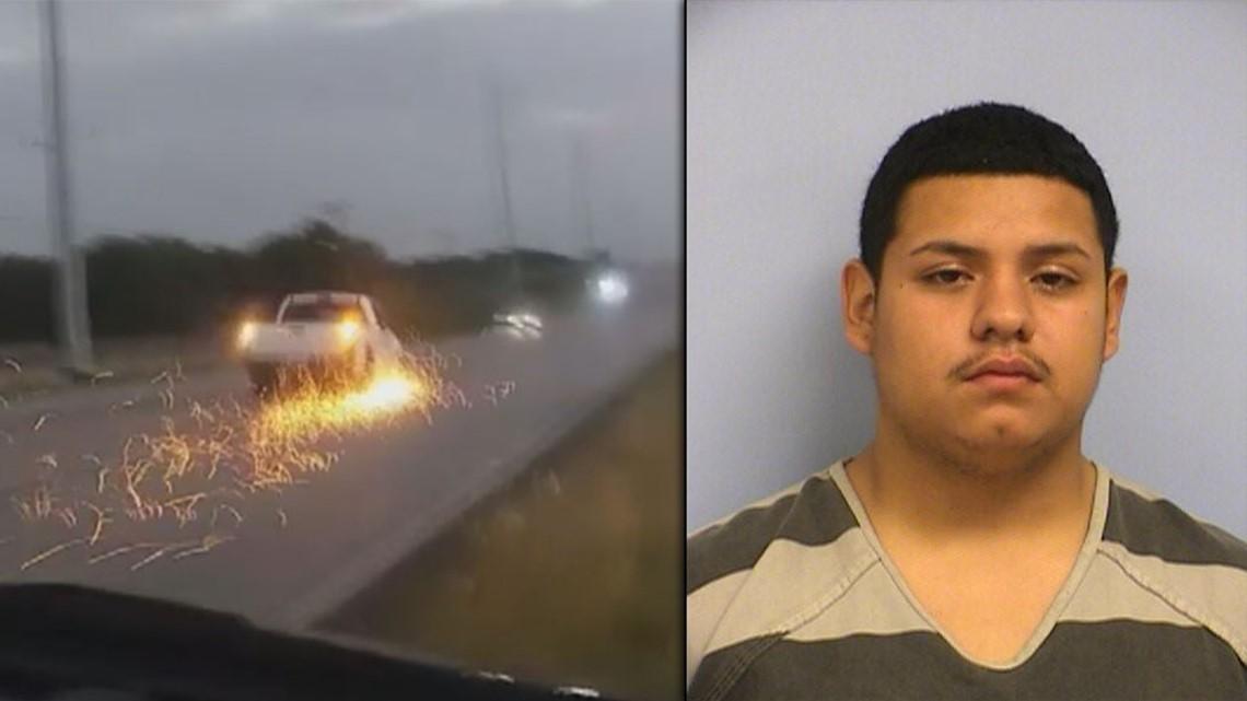 Austin man accused of leading police on chase, striking ambulance