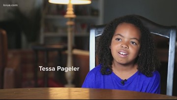 KVUE's Five Who Care winner: Tessa Pageler