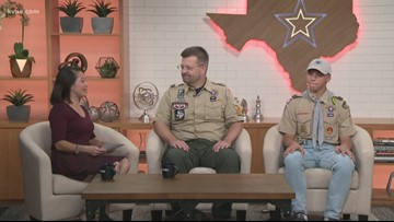 Boy Scouts kick off fall popcorn sale
