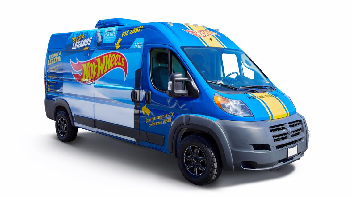 Start your engines! Hot Wheels Legends truck to roll into Austin