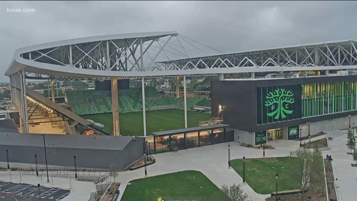Q2 Stadium to conduct sound checks as construction progresses