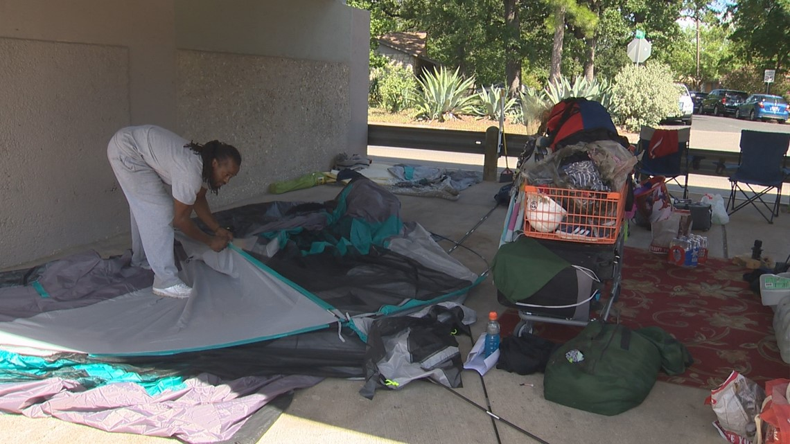 Austin Gas Prices >> Austin homeless couple whose tent was destroyed in fire ...