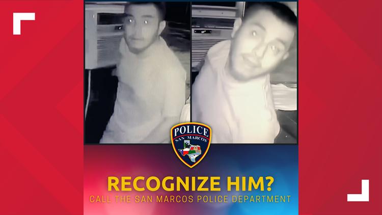 San Marcos police need help identifying food truck thief