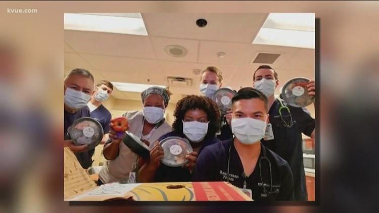 How local Central Texas restaurants are feeding hospital workers amid coronavirus pandemic