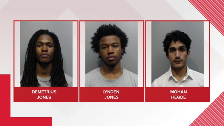 3 arrested for Texas State robbery