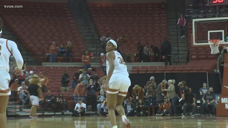 Texas Longhorns 2020 women's basketball schedule and game results