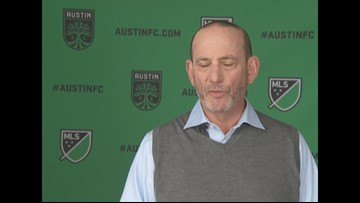 RAW: MLS Commissioner Don Garber speaks on how pro soccer can help grow the sport in Austin