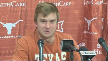 Sam Ehlinger says fully confident on final drive vs Texas Tech