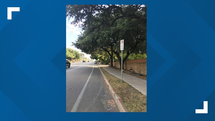 Austin Transportation Department, City of Austin installs new signs