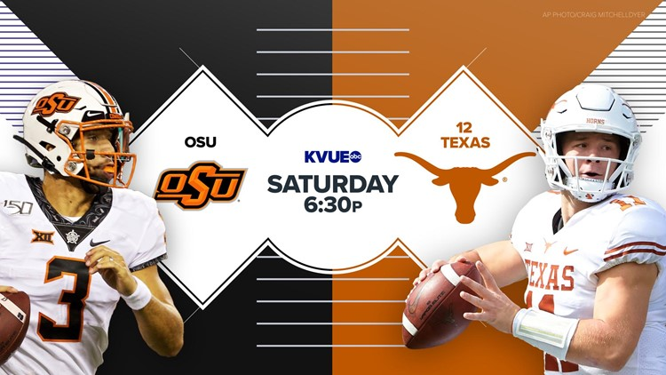 Texas Longhorns football game against Oklahoma State to air on KVUE