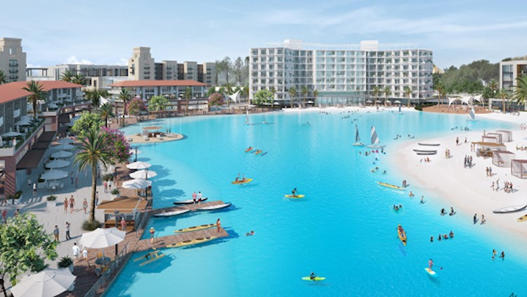 Leander City Council gives final approval to $1B development featuring a lagoon and hotel