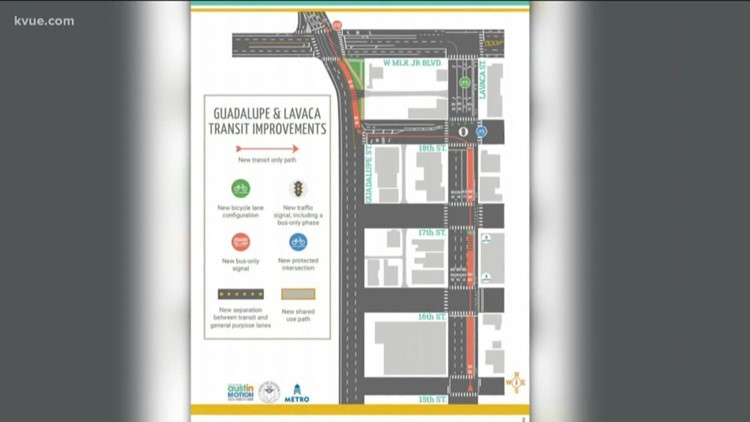 Construction to begin for downtown Austin transit improvements