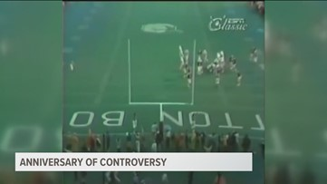 KVUE Rewind: Texas Longhorns, Oklahoma Sooners 35th anniversary of Red River Showdown controversy