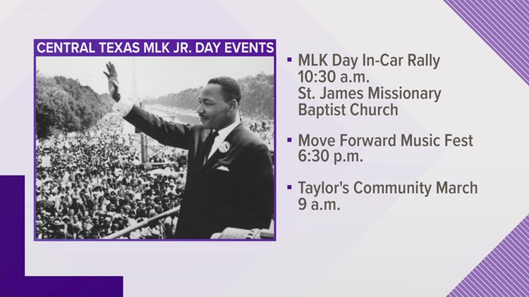 Events planned for MLK Jr. Day in Austin area