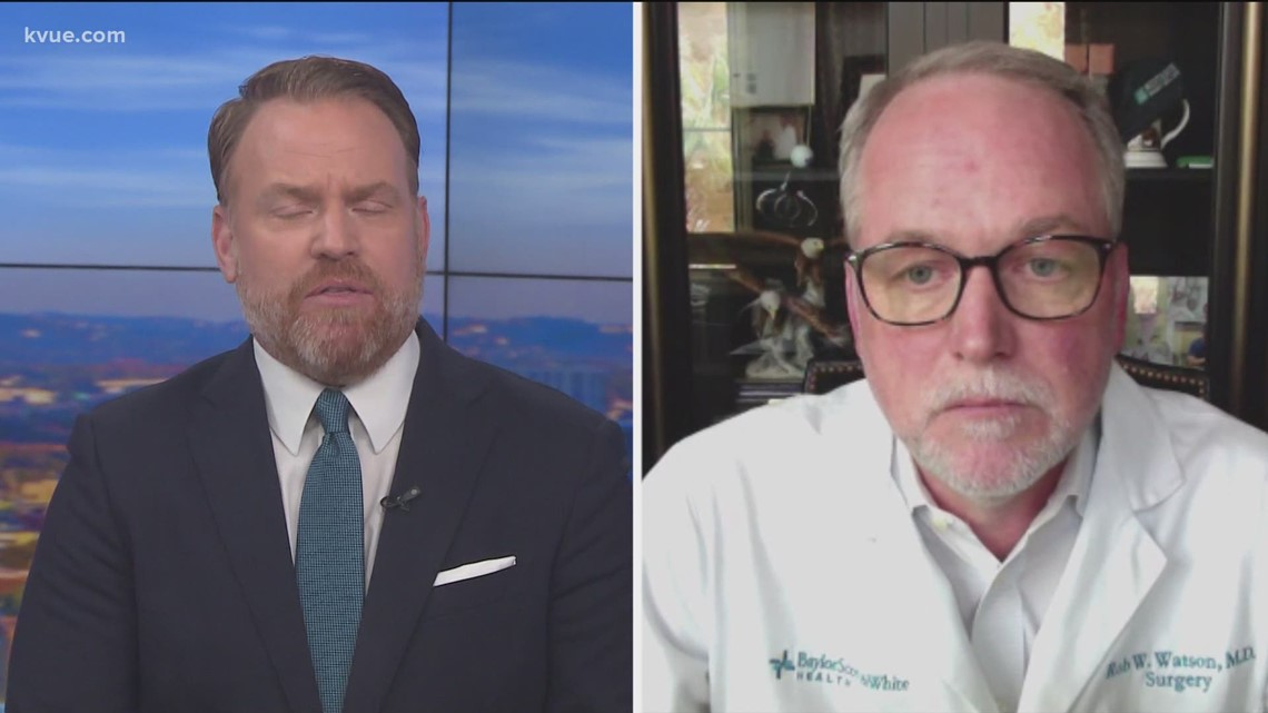 Medical official from Baylor Scott & White Health offers advice as COVID-19 cases increase
