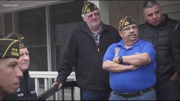 Kyle VFW honors Purple Heart veterans