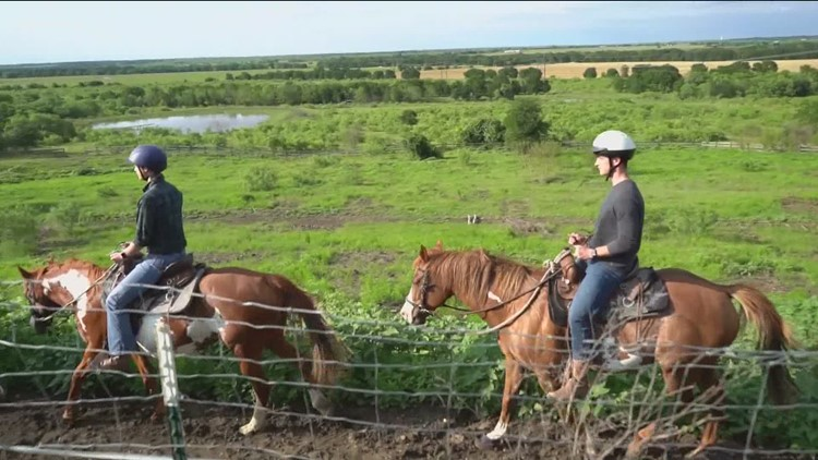The Great Outdoors: Horseback Riding & BBQ