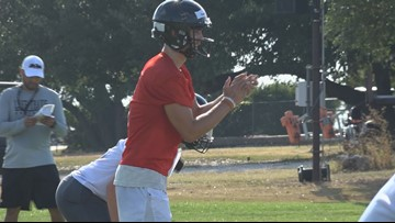 Lake Travis, UT-bound QB Hudson Card expected to be out 4-6 weeks due to foot injury