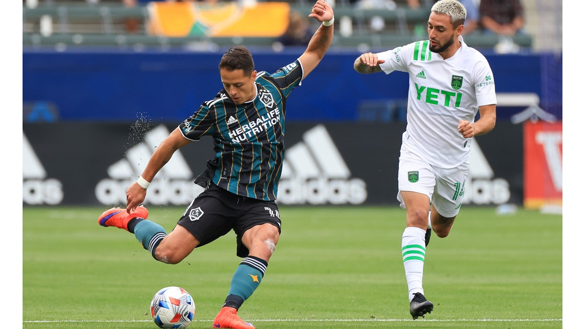 HIGHLIGHTS: Austin FC falls to LA Galaxy, 2-0, after Chicharito's league-leading 7th goal
