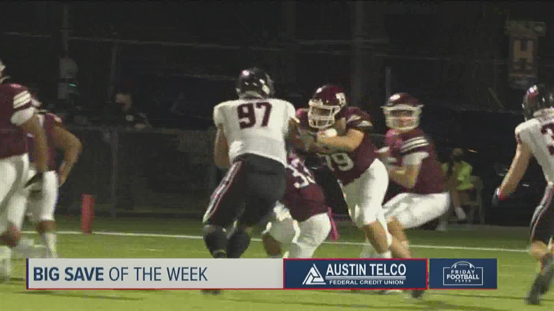 Big Save of the Week: Texas high school top play nominees – Oct. 8, 2021