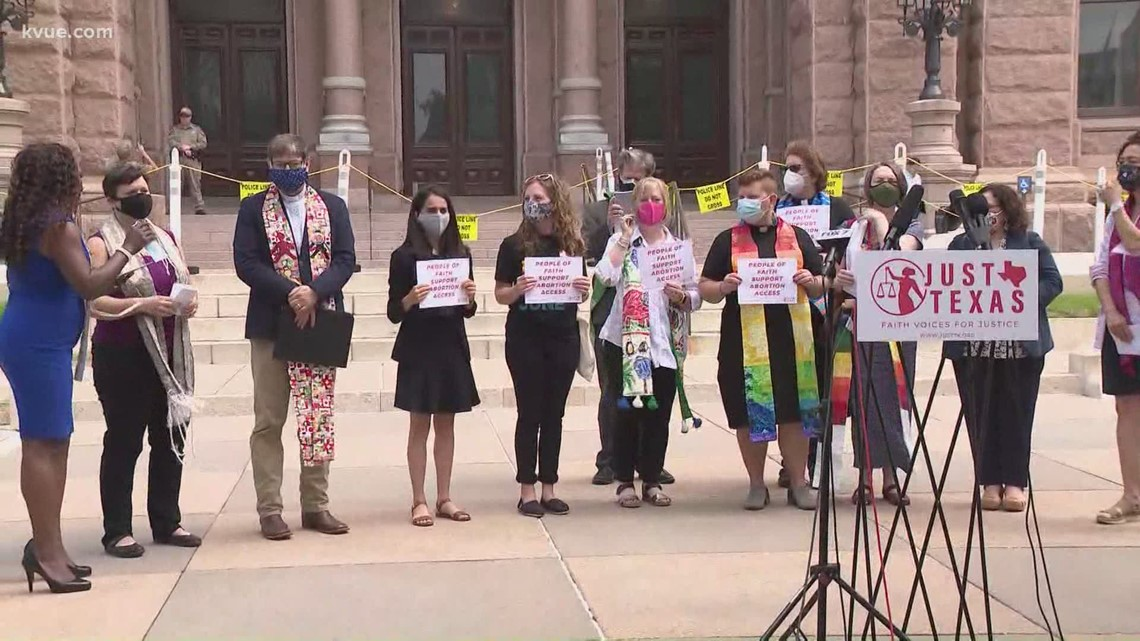 Texas faith leaders rally against abortion bills