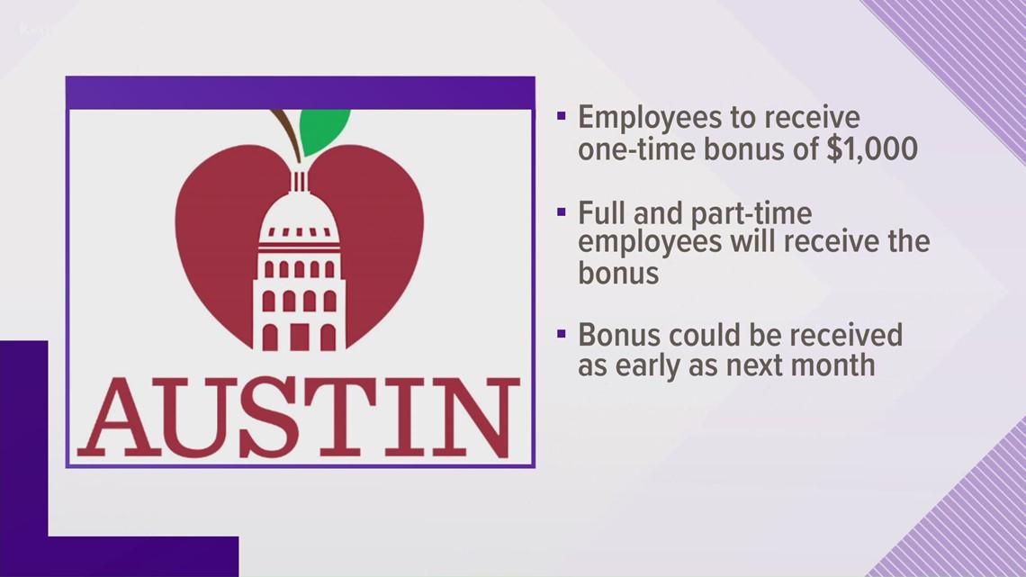 Austin ISD approves retention bonus for employees