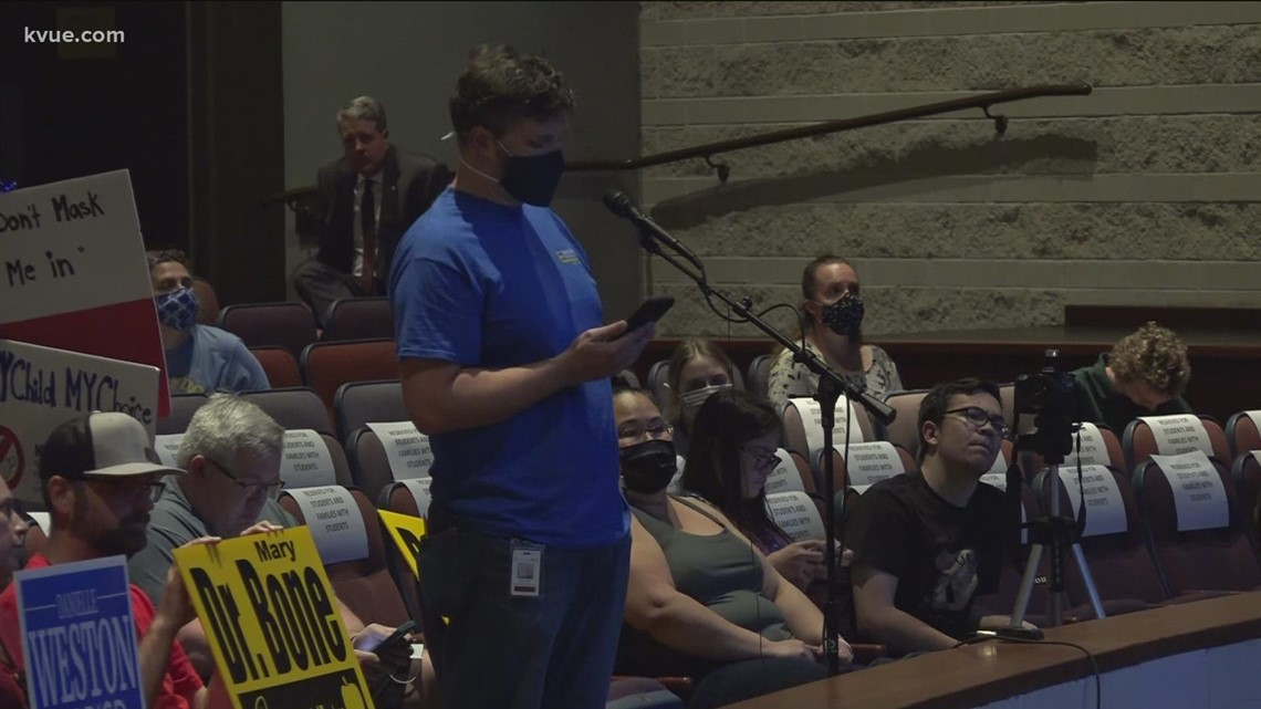 Debate over mask mandate in Round Rock ISD: Public weighs in