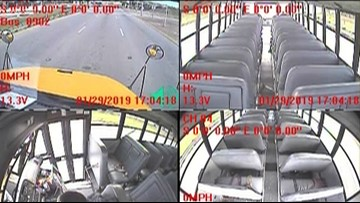 WATCH: Austin ISD releases video of 290 bus crash which