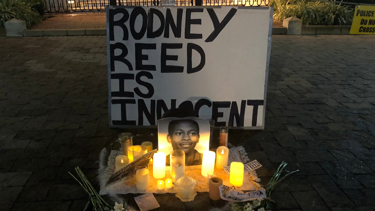With 5 days until execution, Rodney Reed supporters rally for hours at Governor's Mansion