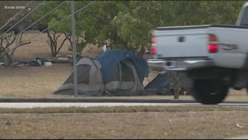 Man robbed at homeless camp near Riverside Drive, police say