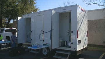 Lighter Loads ATX's mobile showering and laundering unit is now in operation