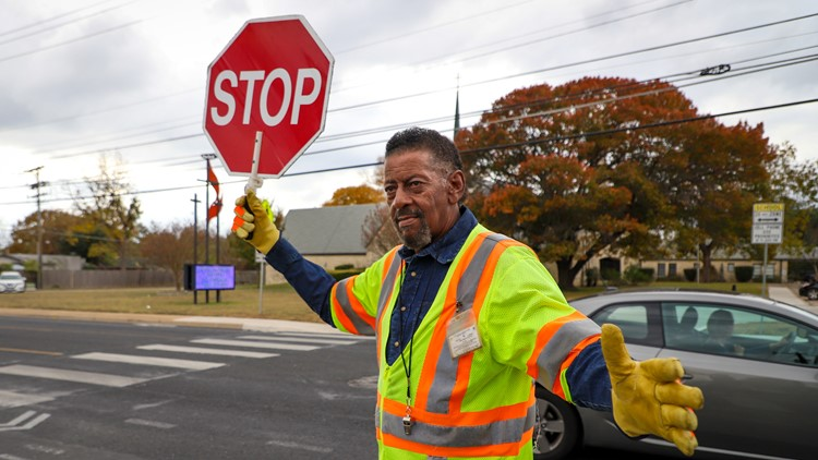 Austin crossing guard Lonnell Shackles