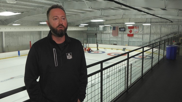 Gold medalist helping promote curling in Central Texas