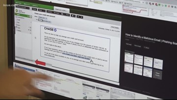 Check scams on the rise in Texas