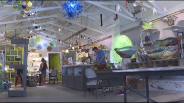 Popular glass business moving to Georgetown