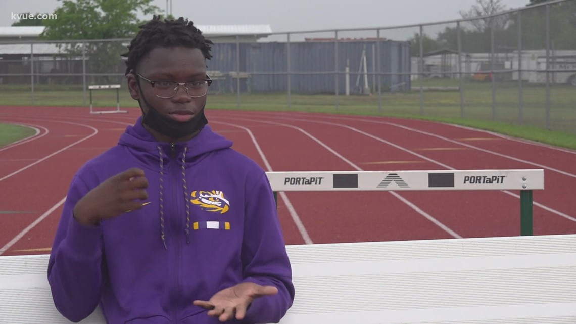 McNeil High School track star sets his sights on state