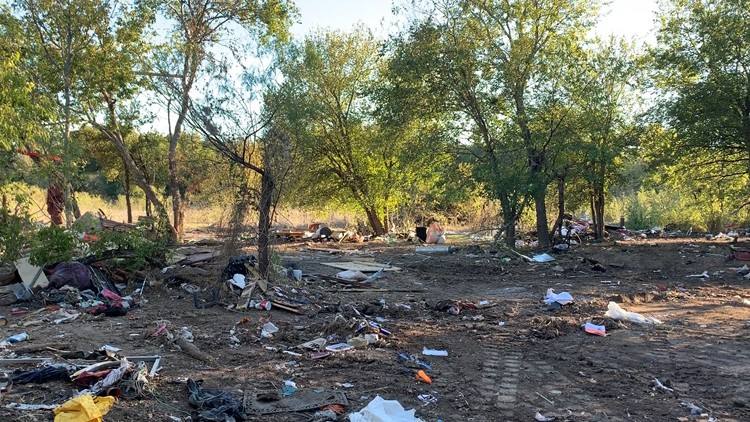 large homeless camp to be removed