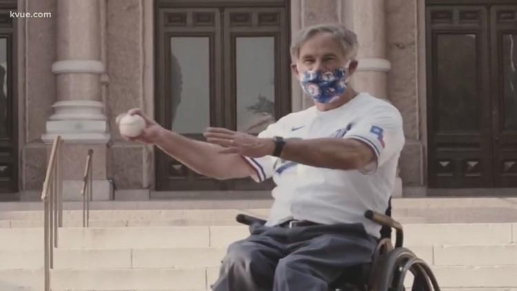 Gov. Abbott declines Texas Rangers' first pitch invitation
