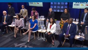 Highlights from KVUE's U.S. Senate Democratic primary debate