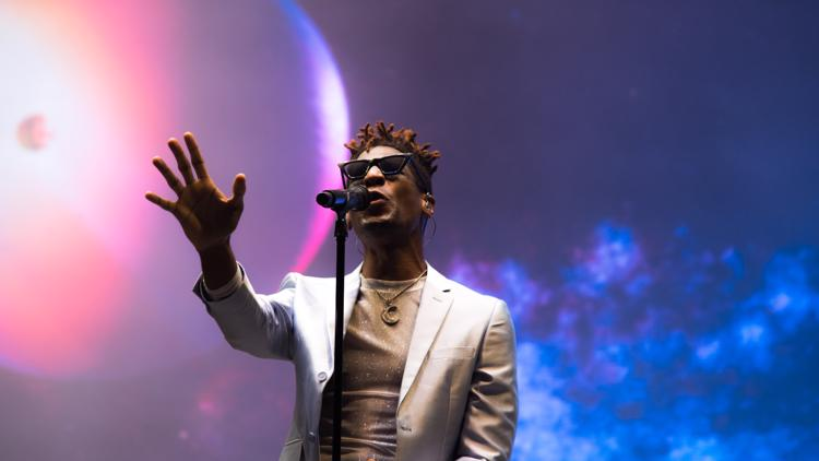 Jon Batiste shares New Orleans jazz and joy with ACL Fest 2021 concertgoers