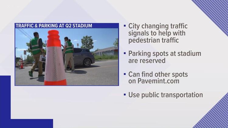 Traffic changes at Q2 Stadium ahead of Austin FC's home opener