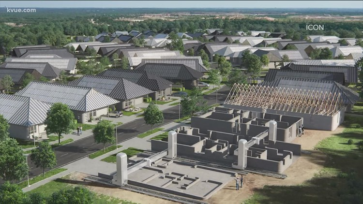 3D-printed neighborhood coming to Austin in 2022