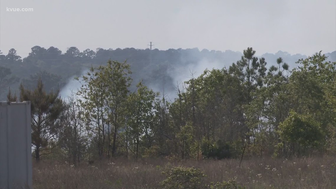 36-acre Bastrop County wildfire 75% contained