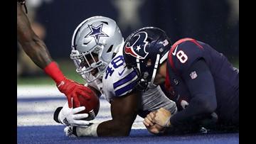 Dallas Cowboys shut out Houston Texans in preseason matchup, 34-0.
