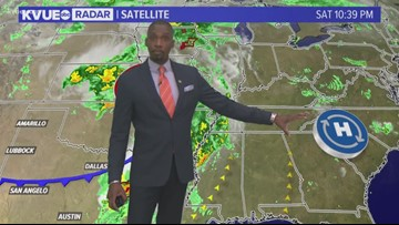 Saturday night forecast with Meteorologist Jason Mikell