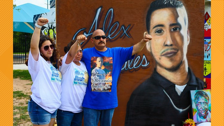 Local advocates rally, march for Alex Gonzales