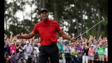 Tiger's triumph at Augusta, GA created a buzz on social media